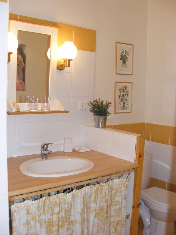 la salle d'eau  pressoir