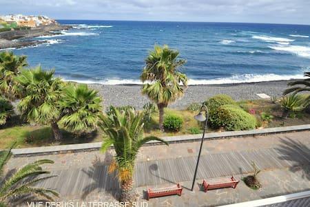 PENTHOUSE EN FRENTE DEL OCEANO WIFI - La Caleta de Interián - Flat