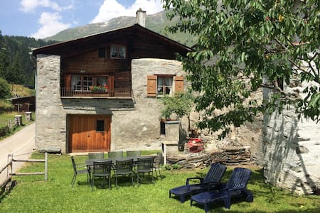 Sunny, rustical 5½ room cottage in Valposchiavo
