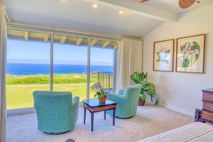 Ocean Front Kapalua Bay Villa 1 Bed