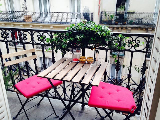 Very charming and spacious flat - Paris - Wohnung