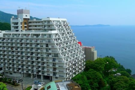 Ocean view apartment near Atami st. - Atami-shi