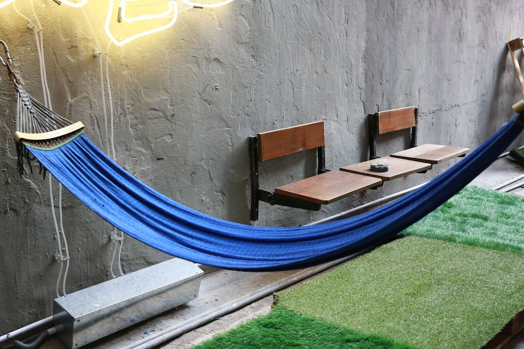 Chilled outdoor patio just to find some peace of mind