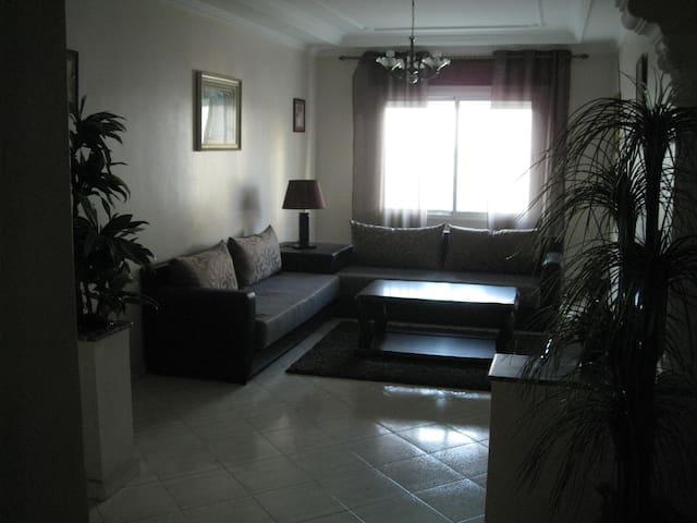Joli appartement  à 5min de la mer - Tanger - Apartemen