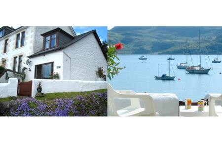 Waterside cottage with fabulous views