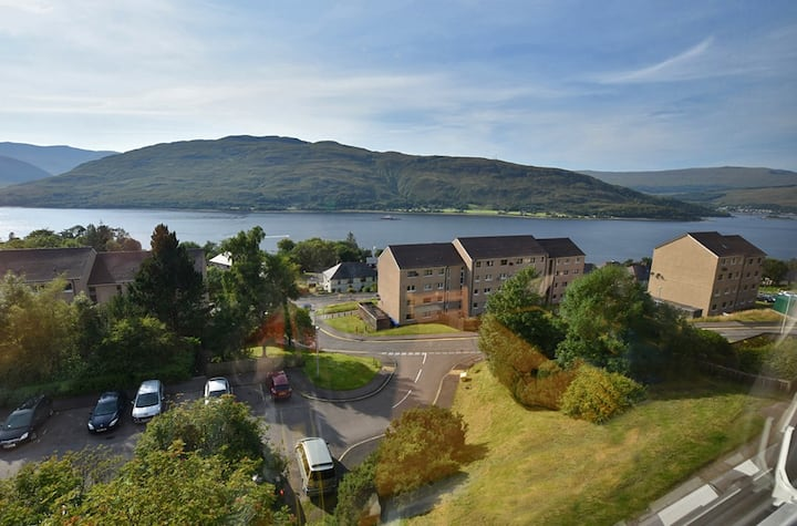 Loch View 3-Bed Flat In the heart of Fort William