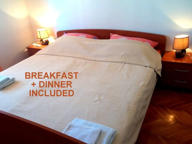 Beachside Room #1 +incl. HALF BOARD - Zavala - Bed & Breakfast
