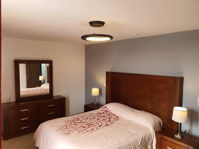 Hermosa habitación,  Aire acondicionado