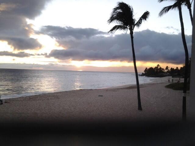 Postcard perfect beach
