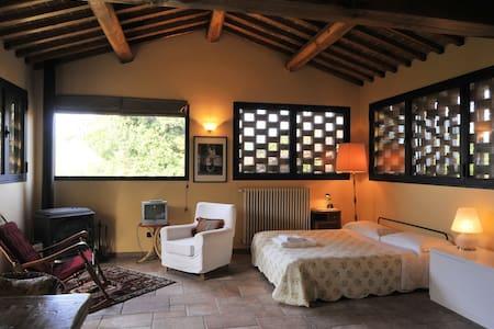 IL fienile. Apt. farmhouse/pool - Figline Valdarno - Apartamento