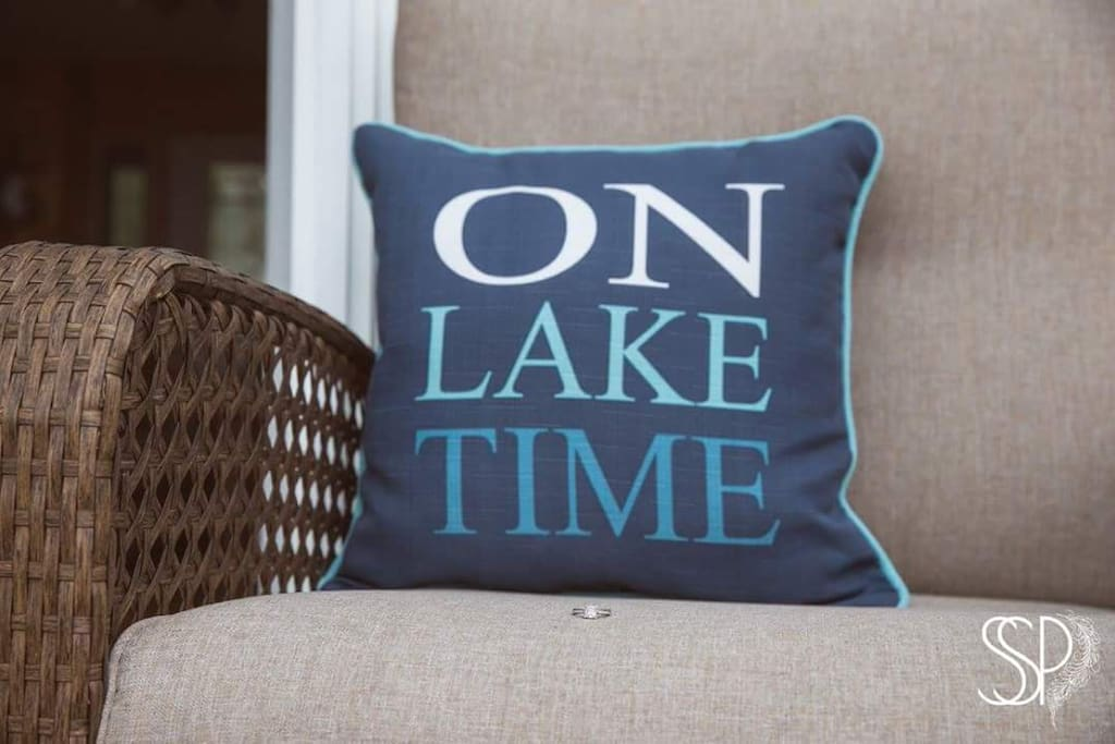 Come relax.....On Lake Time