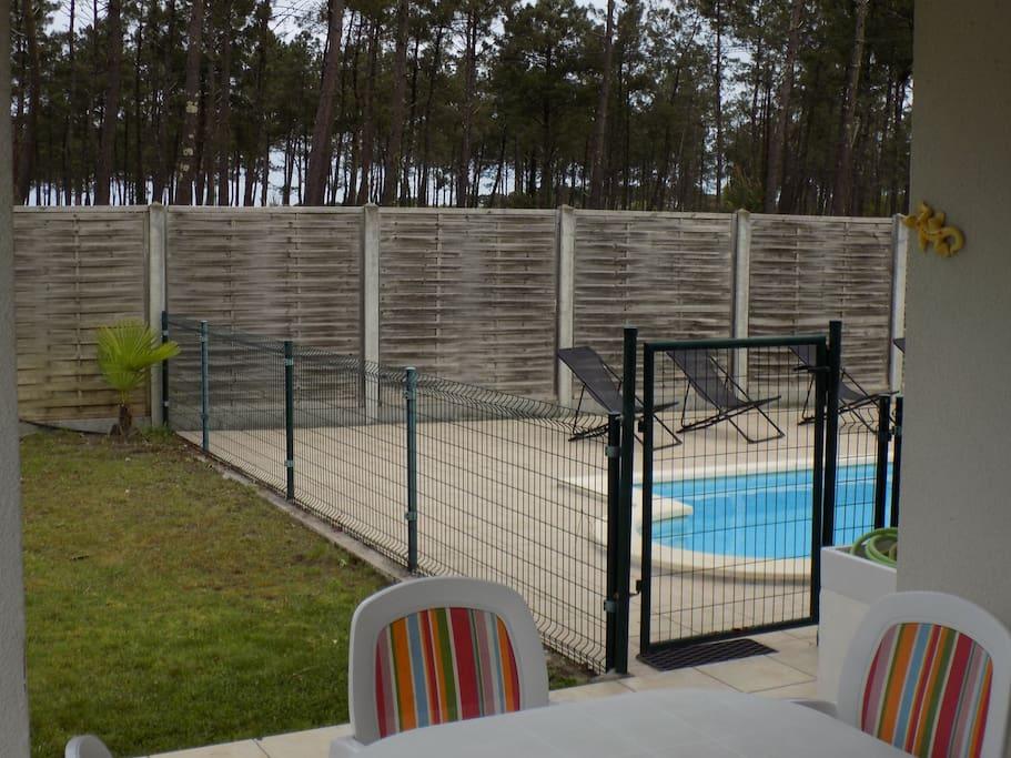 Terrasse, piscine