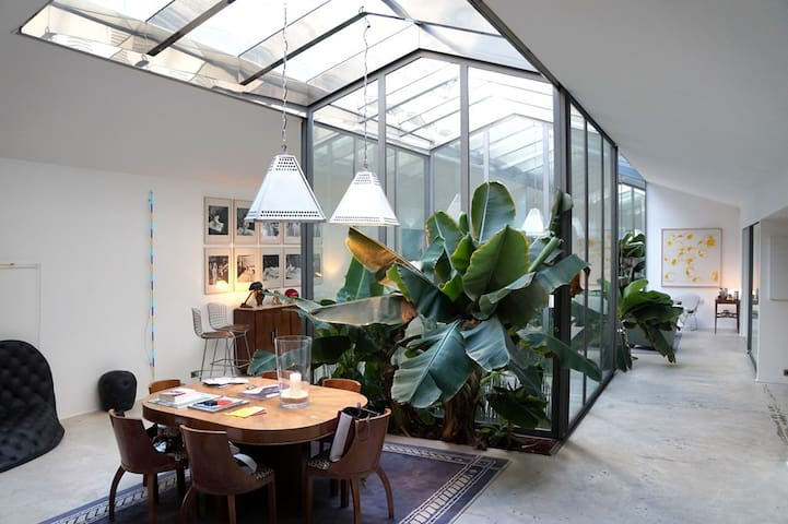 Art/Design Loft of 3068 sq. ft.