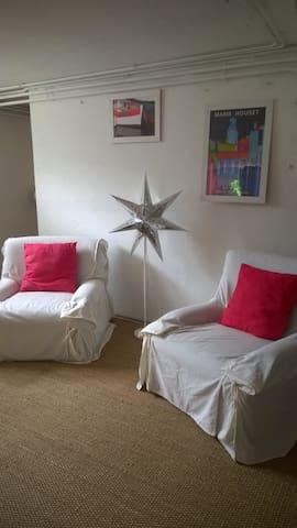 Grde chbre,salon et sdb privée-entrée indépendante - Balma - House