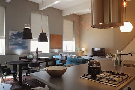 Mer du Midi loft- North Sea design - Anderlecht