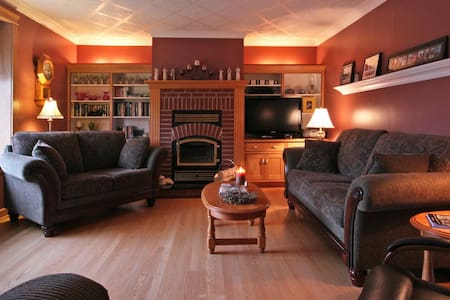 A four- star Canada Select Bed & Breakfast: 2 immaculate rooms with en suite bathrooms; includes breakfast, smoke & pet free.  Located in the heart of Cape Breton Highlands National Park - whale watching, hiking trails, kayaking, beaches nearby.