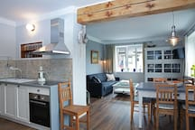 The last flat: kitchen and living room just for you:)