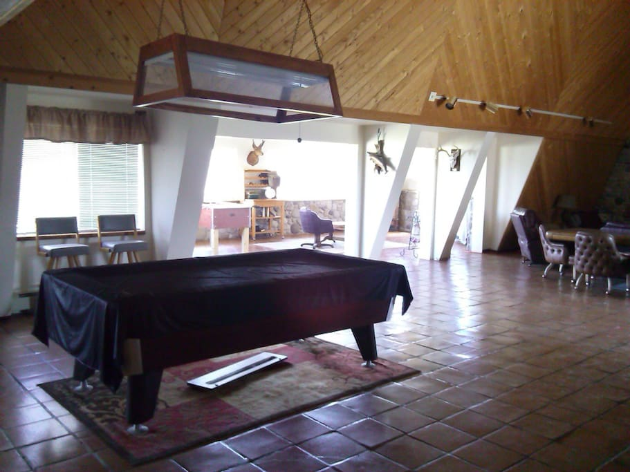 The Great Room - Pool Table
