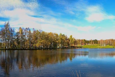 Chaty u vody a u singltreku - Nové Město pod Smrkem