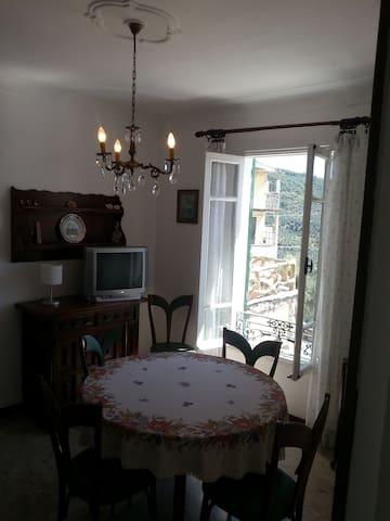 Casa panoramica a 20 min. dal mare - Torria - Apartamento