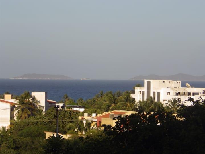 Studio overlooking Playa El Agua