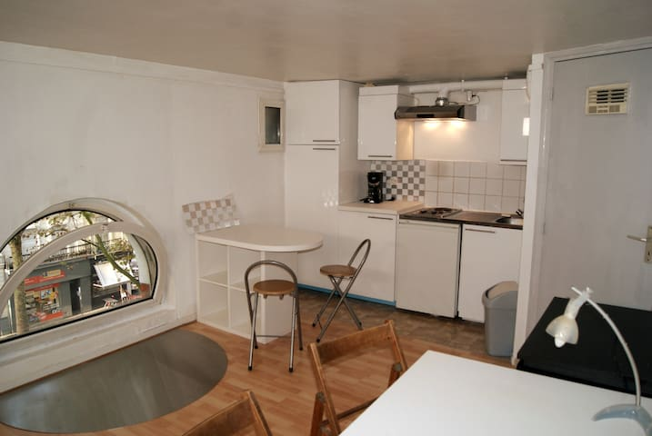 Studio confortable Lille, République Beaux Arts