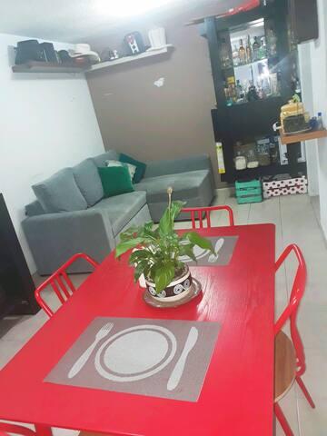 Cómodo Sofá Cama en Depa céntrico - Ciudad de México - Apartament