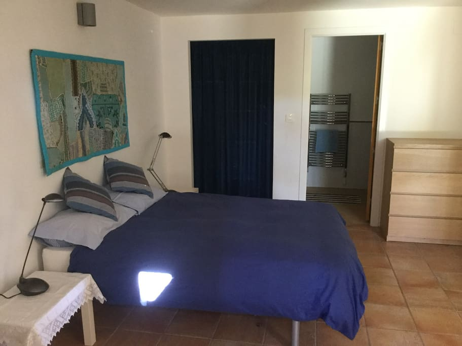 Bedroom 1 with shower room ensuite