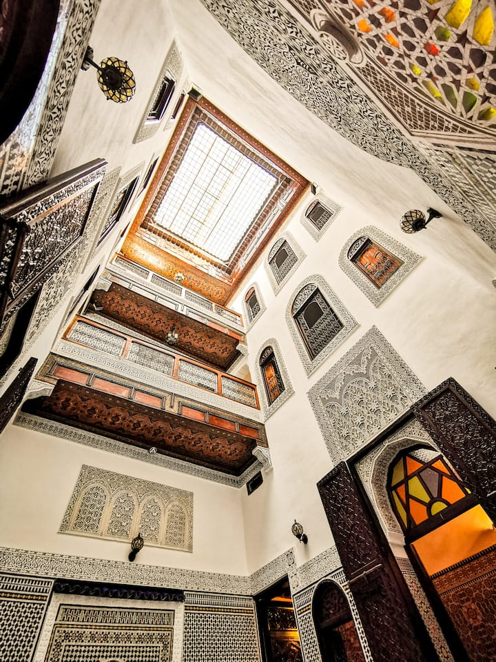 Riad Farah - your second home in Fes (double room)