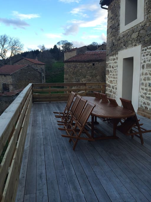 une belle terrasse de 50 M2