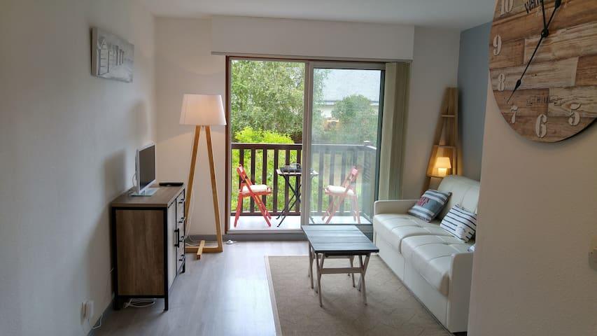 NOUVEAU ! Studio à 150m de la plage - Tourgéville - Lägenhet