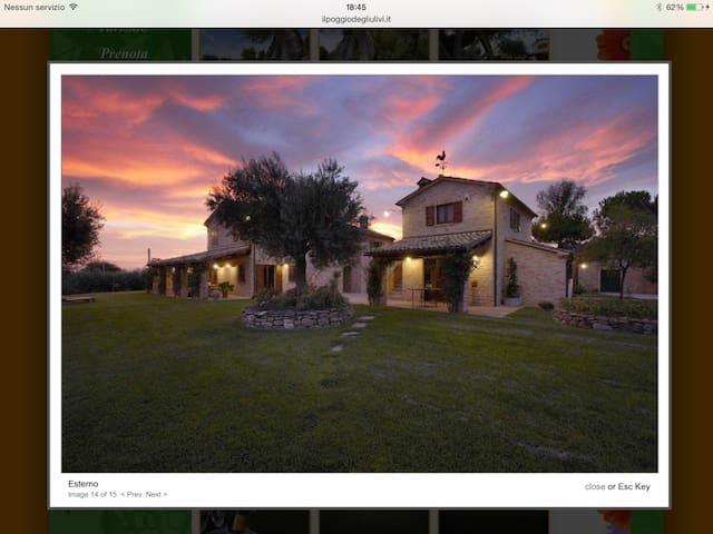 Affascinante residenza di campagna - Osimo - Rumah