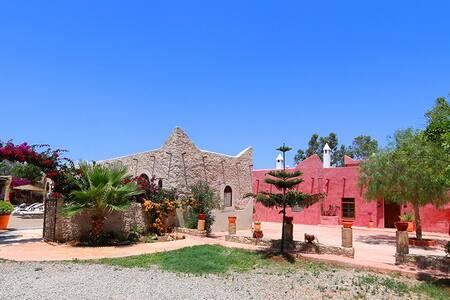 Riad l'Eucalyptus - Chambre familiale TAMOZIKA - Essaouira - Bed & Breakfast