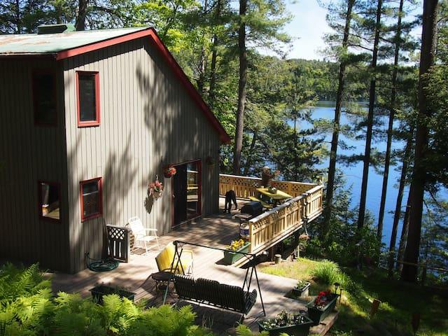 Redstone Lake Cottage  Haliburton, Ontario  Canada
