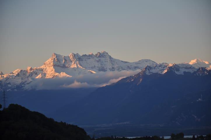 Location Les Monts - Corsier-sur-Vevey - Apartment