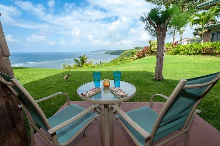 Romantic location - never ending ocean view!