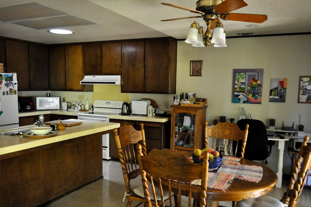 Great all-purpose kitchen for your cooking and dining pleasure.