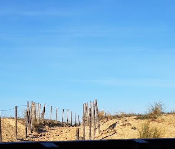 T2 Capbreton plage Santocha