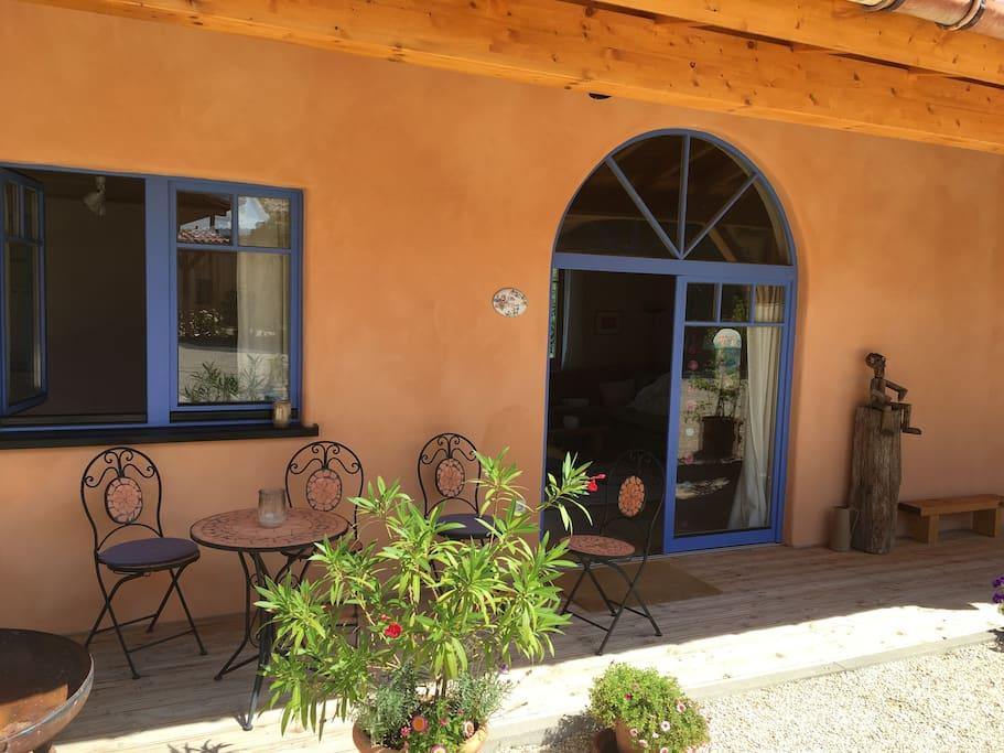 Eingang Villa Elena