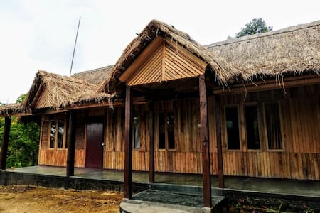 Trep Skum Bamboo Cottage (Wood Cabin II)