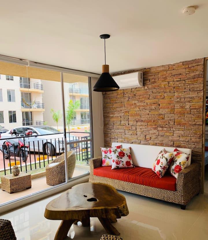 Hermoso y cómodo apartamento para descansar!!