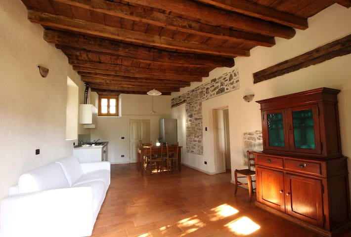 "Country House ""Cozzena"": Appartamento Barbera - Maslianico - Appartement"