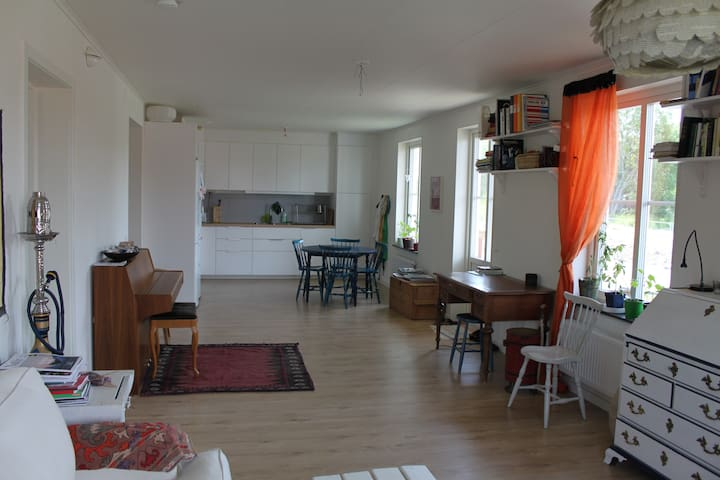 Spatious room in shared apartment