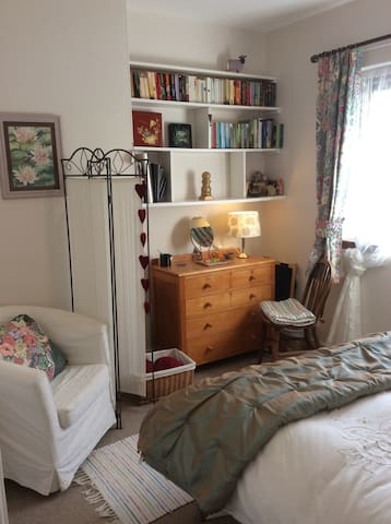Cosy double room in charming cottage - Aberargie - Haus