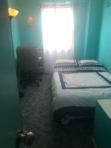 Tiffany Room in Duplex Home