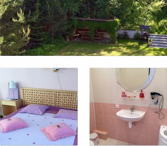 Комфортный отдых в деревне - Бабкино - House