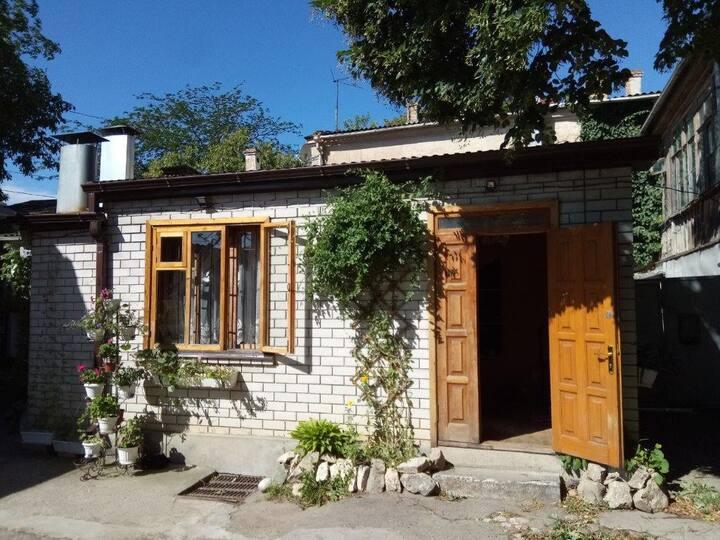 Старинный домик на ул. Лермонтова 2