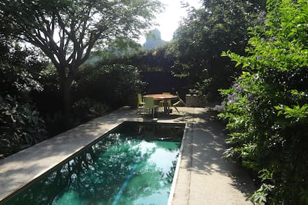 Modern comfortable bungalow in beautiful location - Tepoztlan
