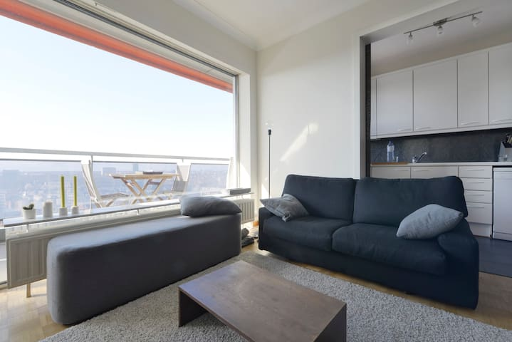 Apartment with an incredible view over Antwerp - Antwerpen - Apartment