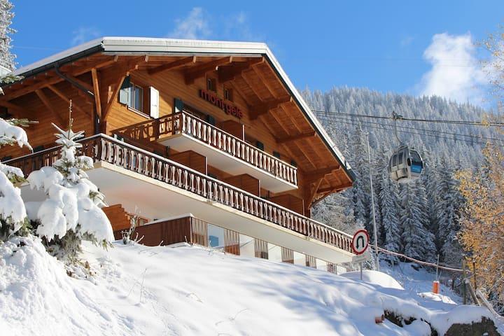 Mont Gelé Verbier Guesthouse standard twin ensuite
